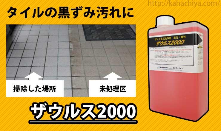 タイル用洗剤 ザウルス2000