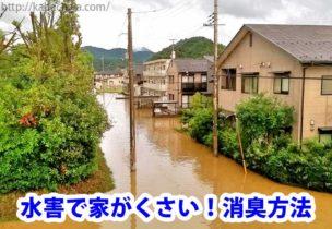 水害で家がくさい
